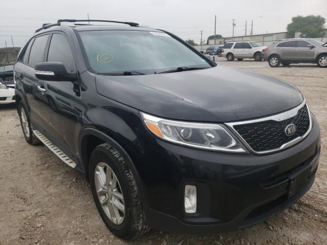 Salvage cars for sale from Copart Haslet, TX: 2014 KIA Sorento LX
