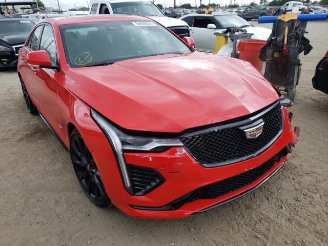Cadillac Vehiculos salvage en venta: 2020 Cadillac CT4-V