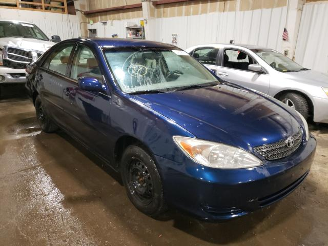 Salvage cars for sale at Anchorage, AK auction: 2003 Toyota Camry LE