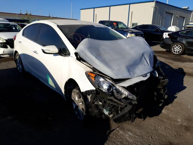Salvage cars for sale at Las Vegas, NV auction: 2014 KIA Forte EX