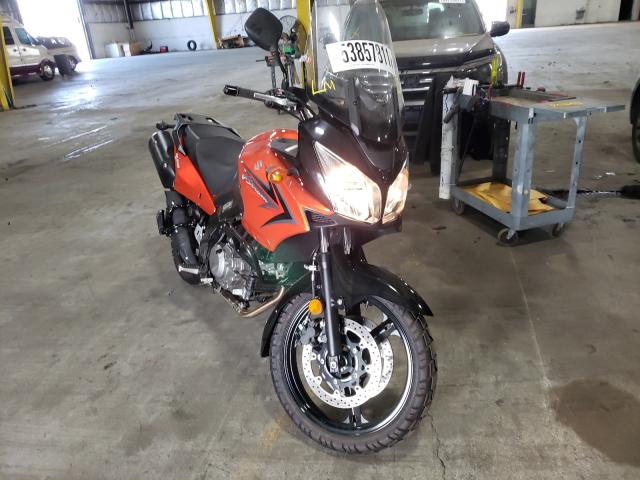 Salvage cars for sale from Copart Woodburn, OR: 2009 Suzuki DL650