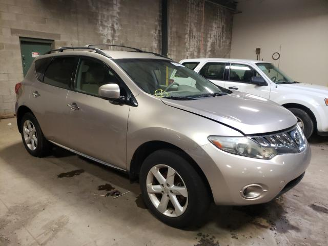 Salvage cars for sale from Copart Grantville, PA: 2009 Nissan Murano S