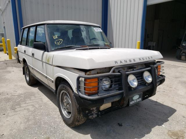 Salvage cars for sale from Copart Riverview, FL: 1992 Land Rover Range Rover