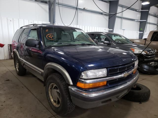 Chevrolet Blazer salvage cars for sale: 2000 Chevrolet Blazer