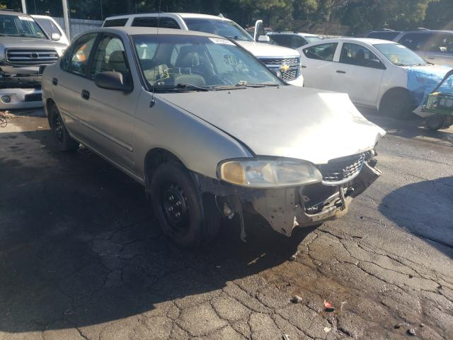 Salvage cars for sale from Copart Austell, GA: 2002 Nissan Sentra XE