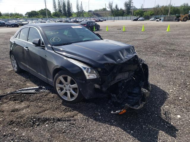 Vehiculos salvage en venta de Copart Miami, FL: 2016 Cadillac ATS Luxury