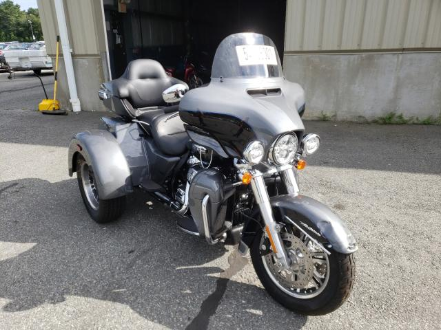 Salvage cars for sale from Copart Exeter, RI: 2021 Harley-Davidson Flhtcutg