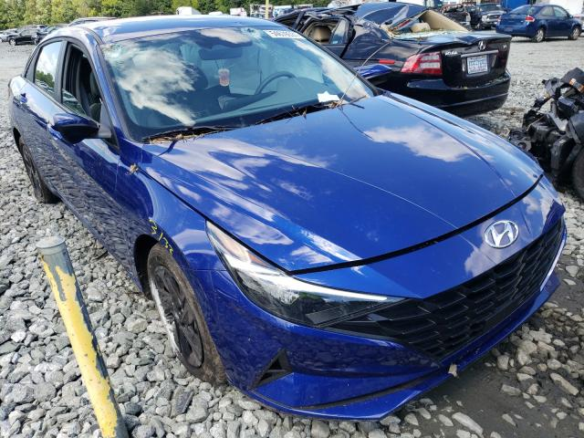 Salvage cars for sale from Copart Mebane, NC: 2021 Hyundai Elantra SE