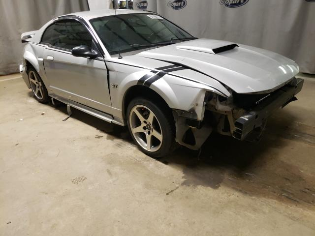 Salvage cars for sale from Copart Tifton, GA: 2002 Ford Mustang GT
