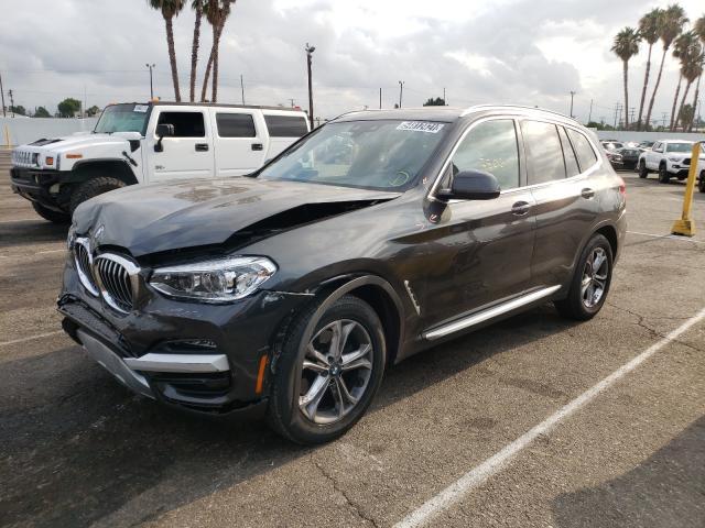 2021 BMW X3 XDRIVE3 5UXTY5C08M9H25444