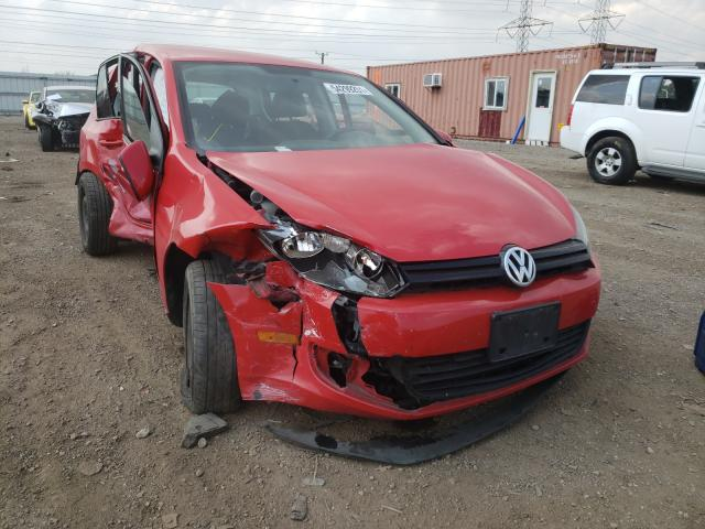 Salvage cars for sale from Copart Elgin, IL: 2014 Volkswagen Golf