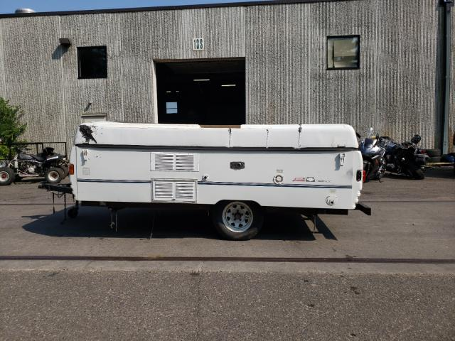 Salvage trucks for sale at Ham Lake, MN auction: 1997 Coleman POP Up