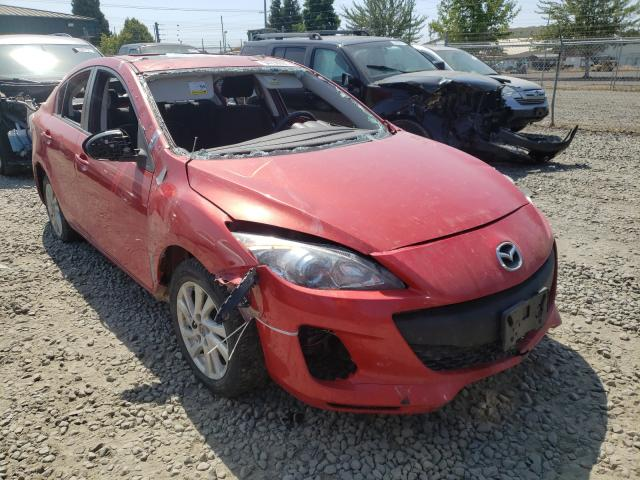 Salvage cars for sale from Copart Eugene, OR: 2013 Mazda 3 I