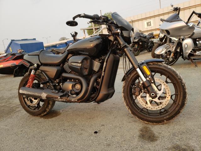 Vehiculos salvage en venta de Copart Martinez, CA: 2017 Harley-Davidson XG750A A