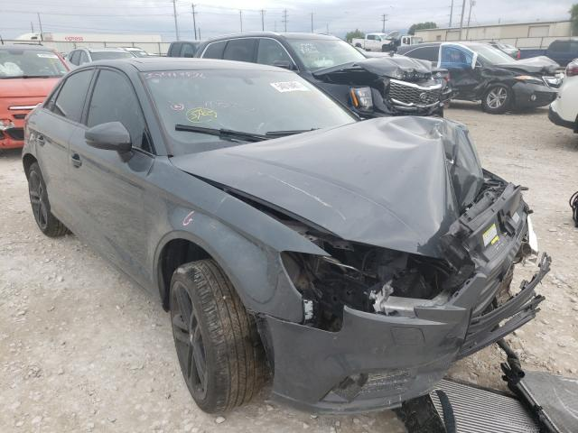 Salvage cars for sale from Copart Haslet, TX: 2020 Audi A3 Premium