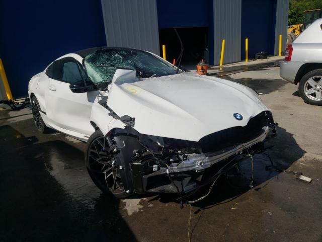BMW M8 salvage cars for sale: 2020 BMW M8