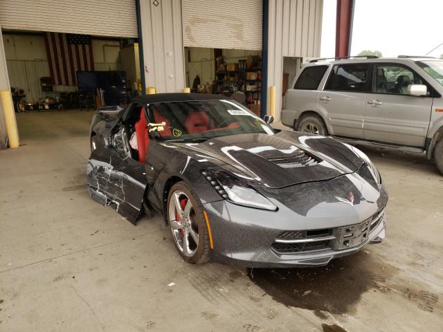 Salvage cars for sale at Billings, MT auction: 2014 Chevrolet Corvette S