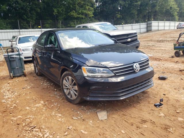 Vehiculos salvage en venta de Copart Austell, GA: 2015 Volkswagen Jetta TDI