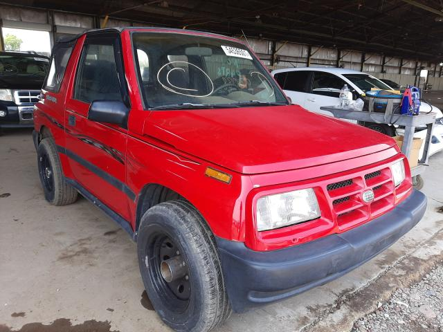 Salvage cars for sale from Copart Phoenix, AZ: 1996 GEO Tracker
