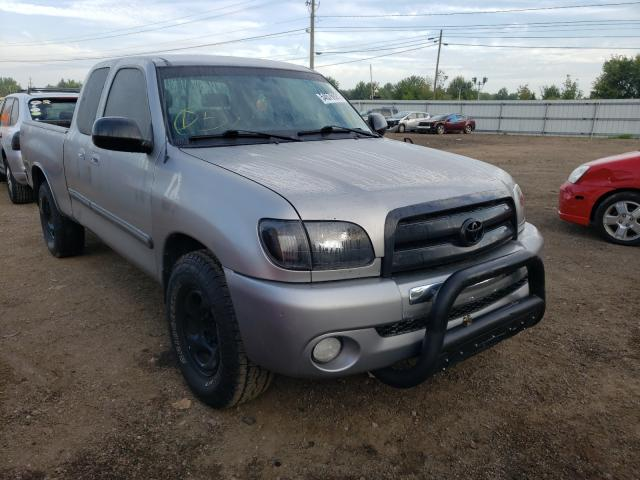 Salvage trucks for sale at Columbia Station, OH auction: 2003 Toyota Tundra ACC