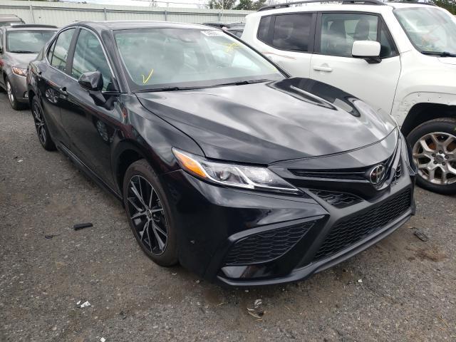 Vehiculos salvage en venta de Copart Pennsburg, PA: 2021 Toyota Camry SE