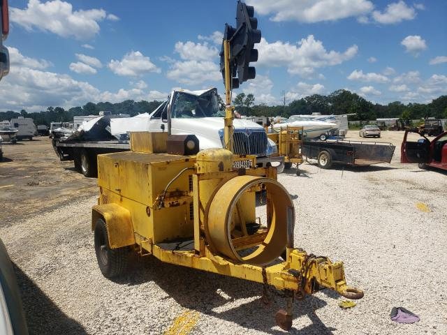 Salvage trucks for sale at Theodore, AL auction: 1995 Hesc 1500-3A
