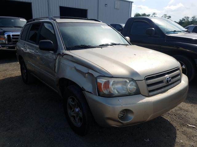 Salvage cars for sale from Copart Jacksonville, FL: 2004 Toyota Highlander