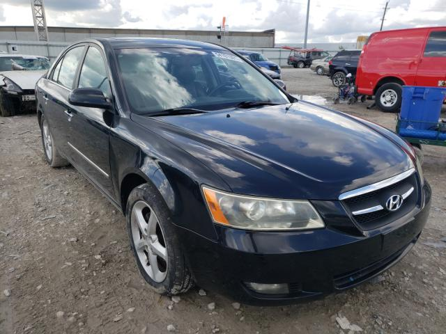 Salvage cars for sale from Copart Columbus, OH: 2008 Hyundai Sonata SE