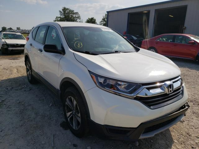 Salvage cars for sale from Copart Sikeston, MO: 2017 Honda CR-V LX