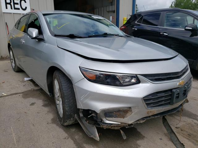 Salvage cars for sale from Copart Duryea, PA: 2017 Chevrolet Malibu LT