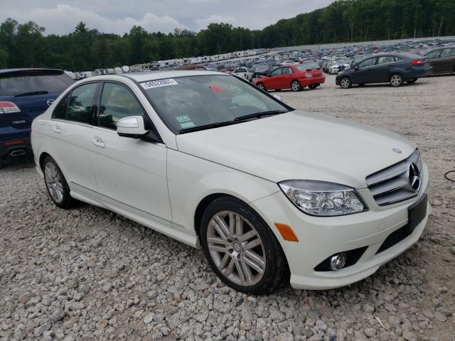 Mercedes-Benz C-Class salvage cars for sale: 2008 Mercedes-Benz C-Class