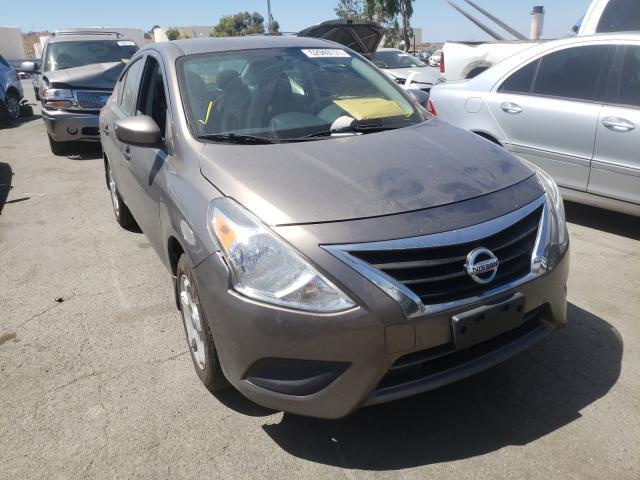 Nissan Versa salvage cars for sale: 2015 Nissan Versa