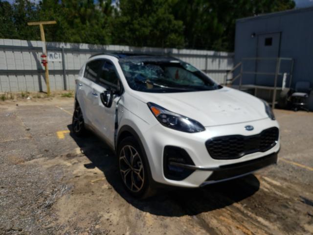 KIA salvage cars for sale: 2022 KIA Sportage S