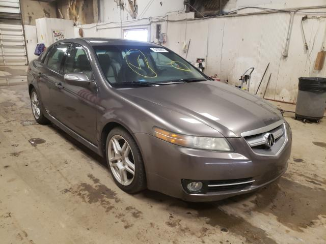 Salvage cars for sale from Copart Casper, WY: 2007 Acura TL