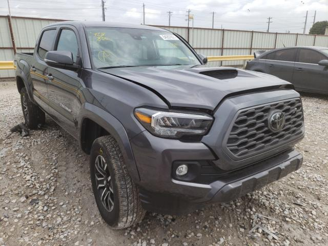 Salvage cars for sale from Copart Haslet, TX: 2021 Toyota Tacoma DOU