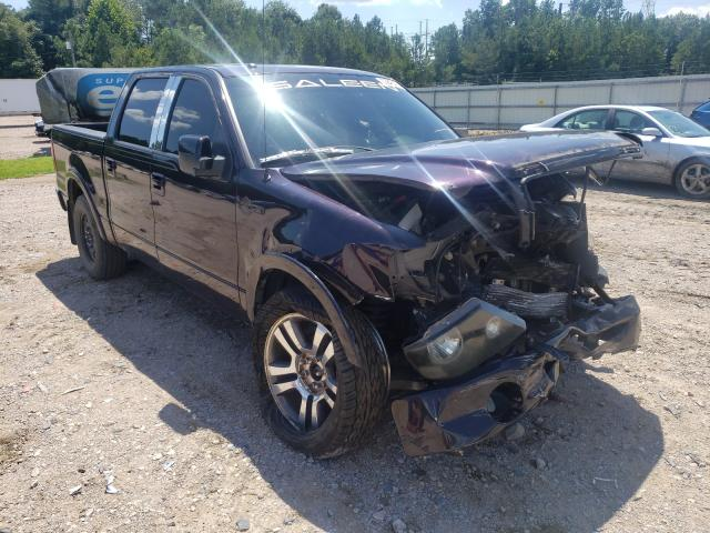 Salvage cars for sale from Copart Charles City, VA: 2007 Ford F150 Super