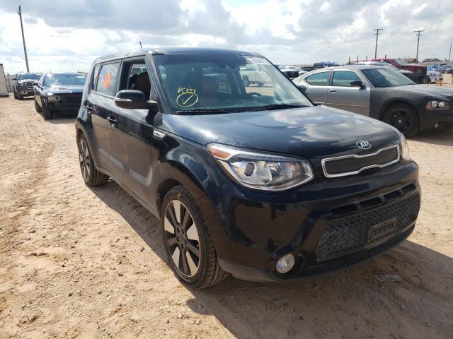 KIA salvage cars for sale: 2016 KIA Soul