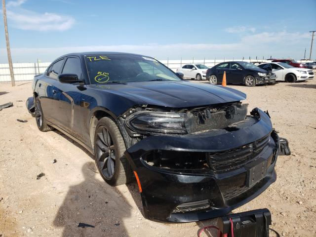 Salvage cars for sale from Copart Andrews, TX: 2019 Dodge Charger SX