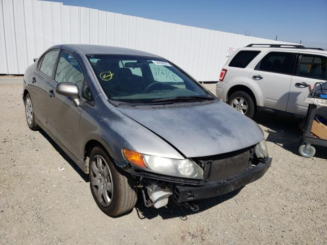 Salvage cars for sale from Copart Adelanto, CA: 2006 Honda Civic LX