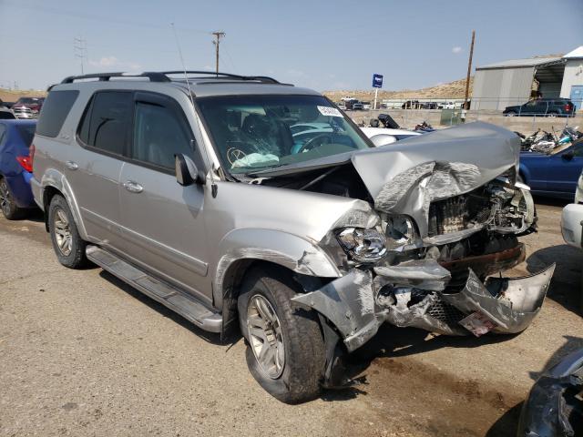 Salvage cars for sale at Albuquerque, NM auction: 2003 Toyota Sequoia LI