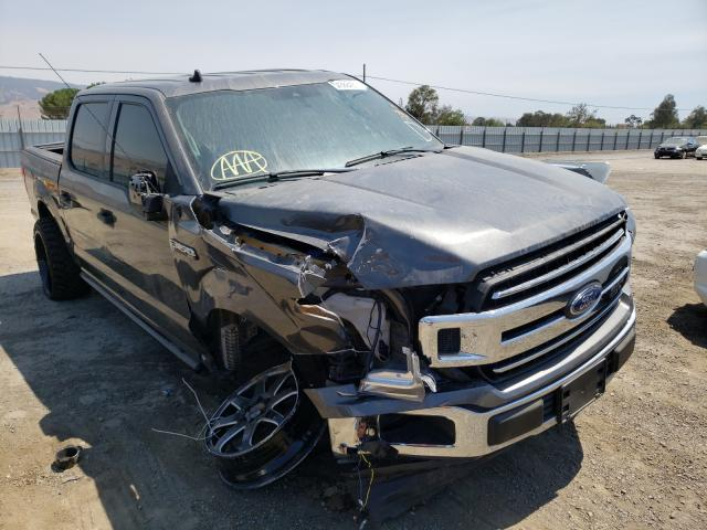 Salvage cars for sale from Copart San Martin, CA: 2019 Ford F150 Super