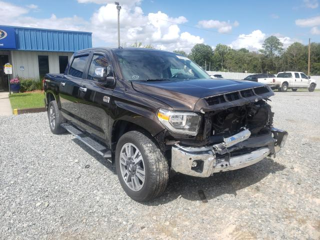 Salvage cars for sale from Copart Tifton, GA: 2018 Toyota Tundra CRE