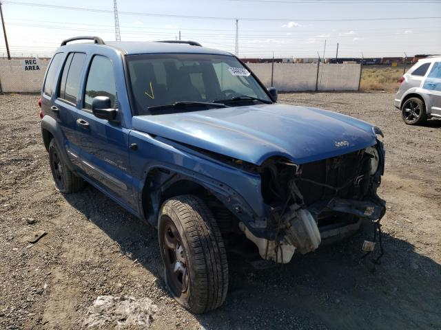 Salvage cars for sale from Copart Pasco, WA: 2003 Jeep Liberty SP