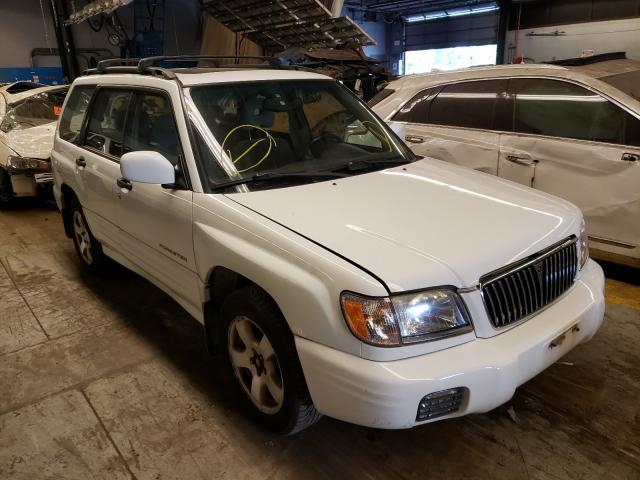 Vehiculos salvage en venta de Copart Wheeling, IL: 2002 Subaru Forester S