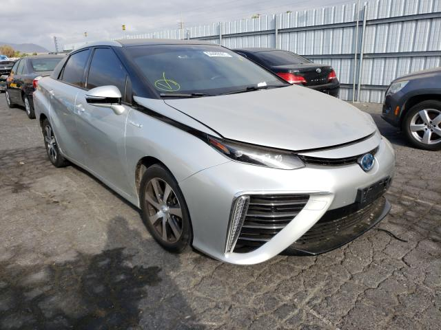 Salvage cars for sale from Copart Colton, CA: 2016 Toyota Mirai