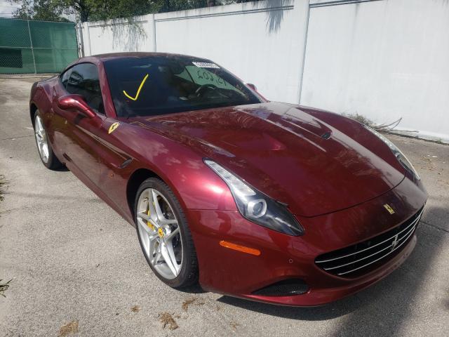 Ferrari salvage cars for sale: 2016 Ferrari California