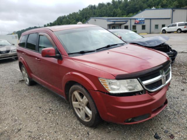 Salvage cars for sale at Hurricane, WV auction: 2009 Dodge Journey SX
