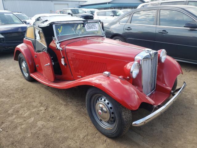 Vehiculos salvage en venta de Copart Pekin, IL: 1952 MG TD