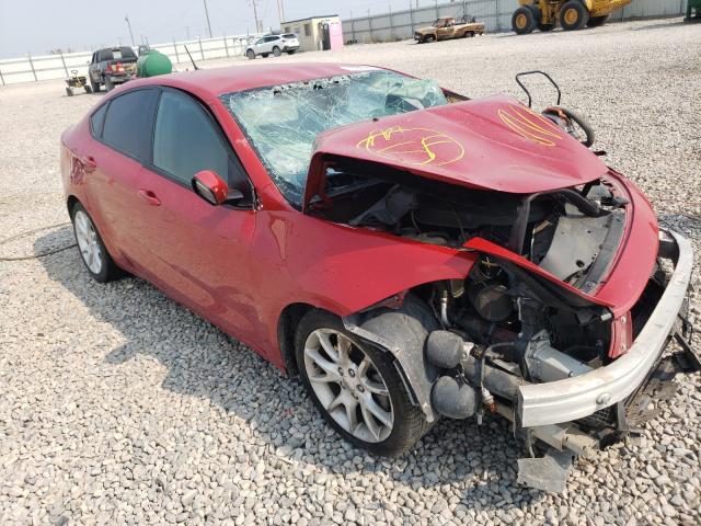 Dodge Dart salvage cars for sale: 2013 Dodge Dart