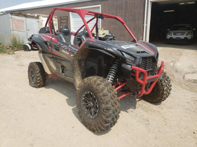 Salvage cars for sale from Copart Billings, MT: 2021 Kawasaki KRF 1000 A